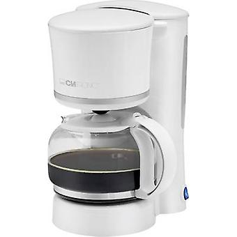 Clatronic KA3555 Coffee maker White, Silver Cup volume=8 Plate warmer