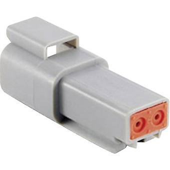 Conector Amphenol AT04 de bala de 2P Plug, série em linha reta (conectores): no Total número de pinos: 2 1 computador (es)