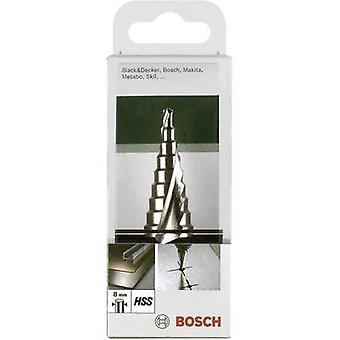 Bosch Accessories 2609255115 HSS Step drill bit 4 - 20 mm Total length 75 mm Triangular shank 1 pc(s)