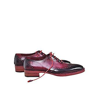 Handcrafted Premium Leather Afro PP Oxford Shoe