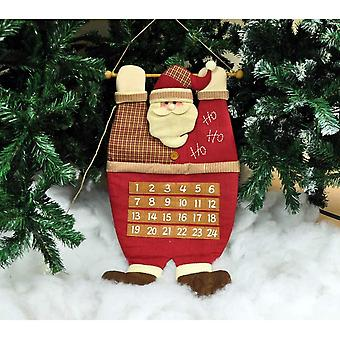 Kingfisher plysj hengende Santa far Christmas Xmas Advent kalenderen