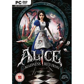 Alice Madness Returns (PC DVD)-nytt
