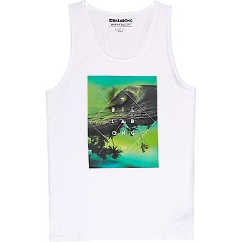 Billabong Cross Section camiseta sin mangas en blanco