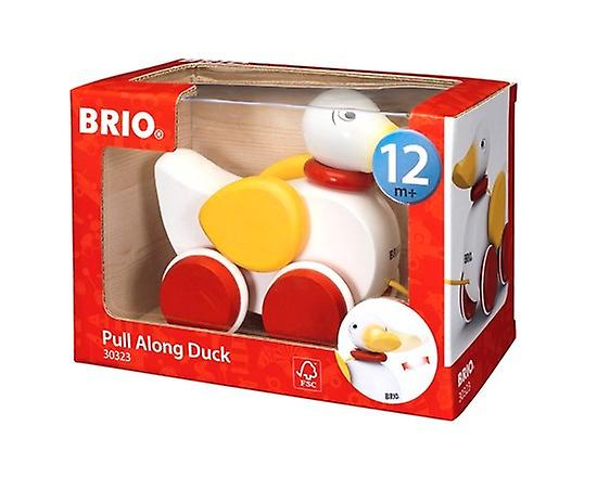 BRIO Pull-along Duck (white) 30323 Toddler Toy