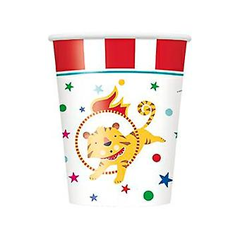 Funny circus Kids Party Bowl 256 ml 8 piece circus party birthday decoration