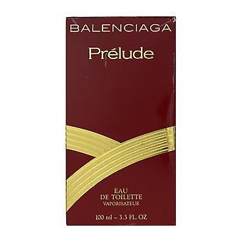 Balenciaga Prelude Eau De Toilette Spray 3.3Oz/100ml In Box Vintage (90% Full)