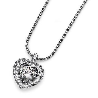 Oliver Weber Pendant Adore Rhodium Crystal