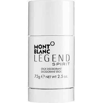 Mont Blanc Legende Geist Deostick 75g