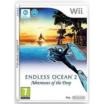 Endless Ocean 2 Adventures of the Deep (Wii) - Nouveau