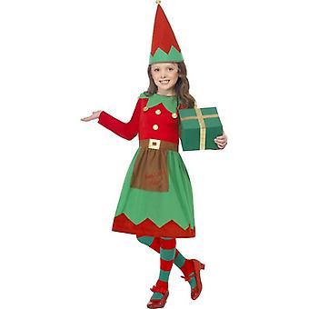 サンタさんのリトル ヘルパー衣装、中年齢 7-9