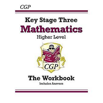 KS3 Matematiikka työkirjan (vastauksineen) - suuremmat CGP - CGP-kirjoja-