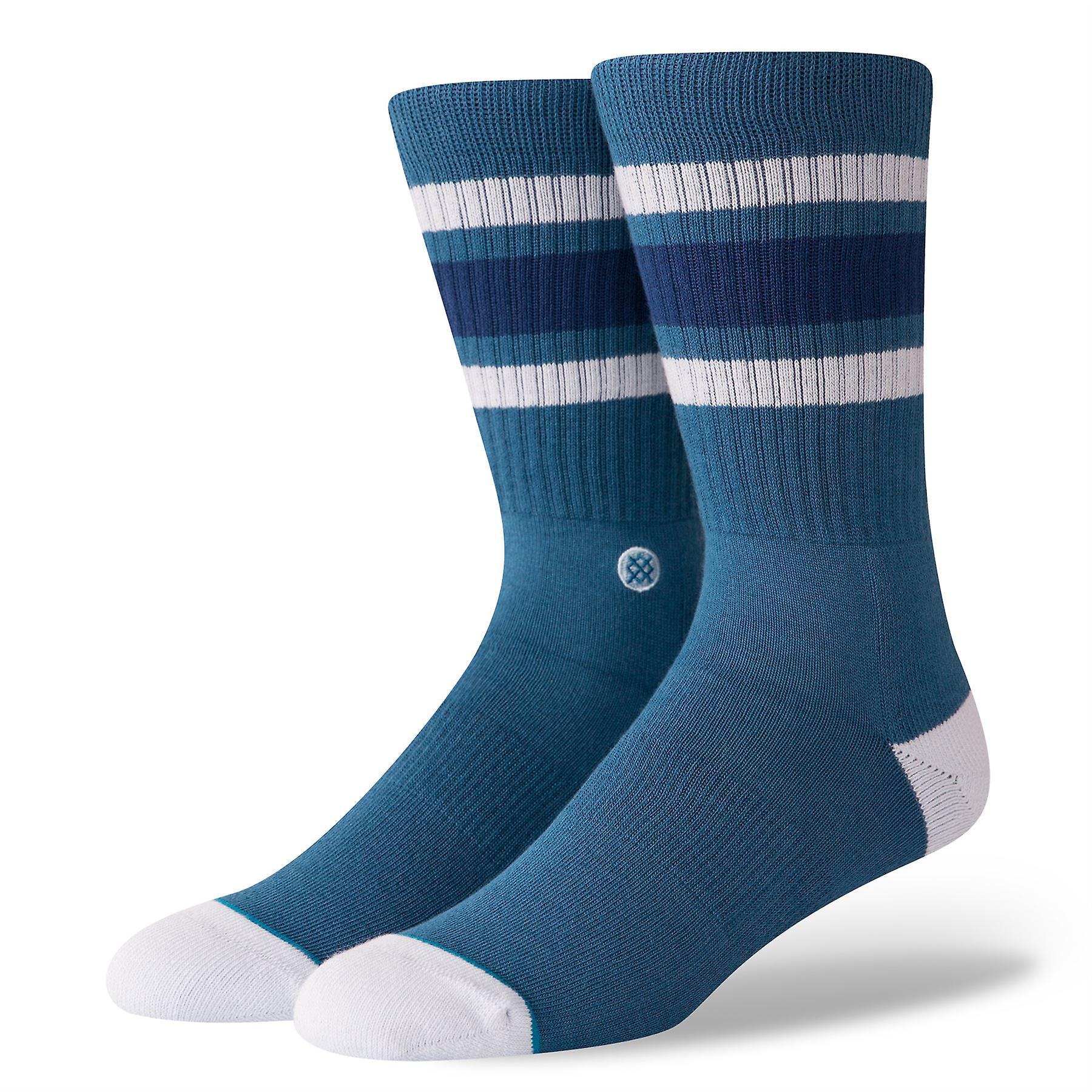 Stance Uncommon Solids Mens Socks ~ Boyd 4 indigo (L)