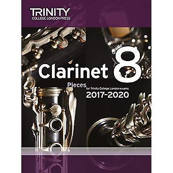 Klarinett-examen bitar årskurs 8 2017 2020 (poäng & del)