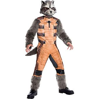Rocket Raccoon kind kostuum