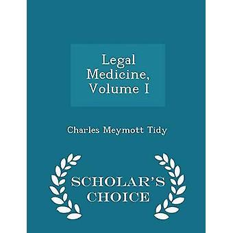 Rechtsmedizin Volumen ich Gelehrte Wahl Edition von Tidy & Charles Meymott