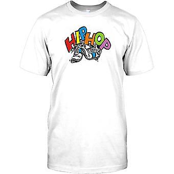 Hip Hop Trainers - Cool Design Mens T Shirt