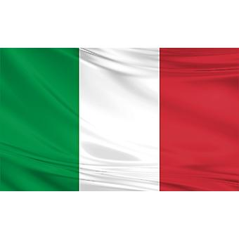 Italy Flag 5ft x 3ft Polyester Fabric Country National