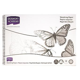 Derwent Academy Spiral Sketch Pad A3 (Landscape)