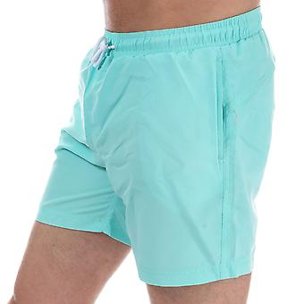 Mens Henleys Pastel Pack Swim Short In Aruba Blue