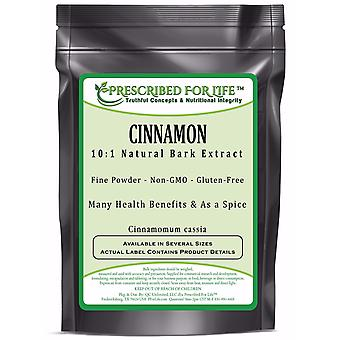 Cinnamon - 10:1 Natural Bark Extract Powder