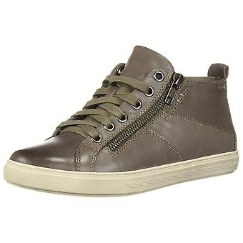 Cobb Hill Womens Willa Leather Hight Top Zipper Fashion Sneakers