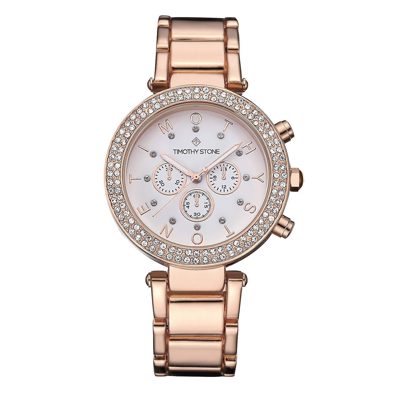 Timothy Stone Women's D�SIRE-STAINLESS Rose Gold-Tone Watch