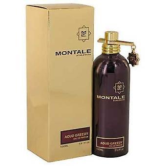 Montale Aoud gulzige door Montale Eau de parfum spray (unisex) 3,4 oz (vrouwen) V728-540119