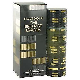 The Brilliant Game de Davidoff Eau De Toilette Spray 3.4 Oz (hommes) V728-518155