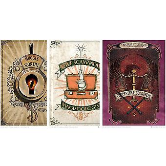 Poster - Fantastic Beasts - Art Print Set #1 pack-of-3 18x24