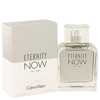 Eternity Now Eau De Toilette Spray di Calvin Klein 518699 100 ml