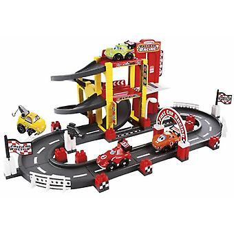 Smoby Garage + F1 Circuito Prima Era