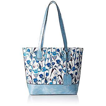 Laura Vita 2593 - Blue Women's Bucket Bags (Bl) 12.5x29.5x39.0 cm (W x H L)