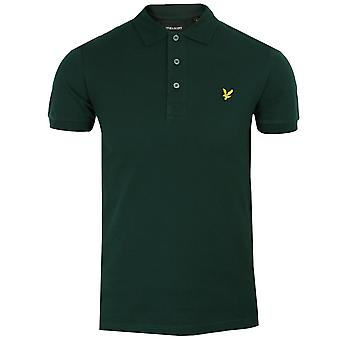 Lyle & scott men's jade green polo shirt