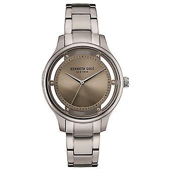 Kenneth Cole Ladies Womens Transparent Wrist Watch 10030795