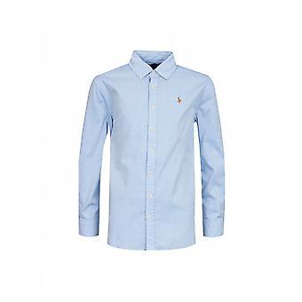 Polo Ralph Lauren Kinderbekleidung Polo Saum Logo Shirt