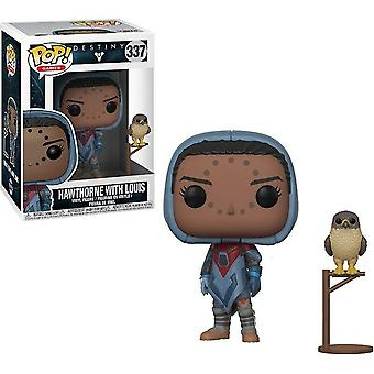 Destiny Hawthorne with Hawk Pop! Vinyl