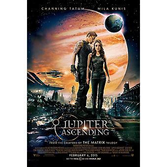 Jupiter Ascending Original Movie Poster - Double Sided Regular