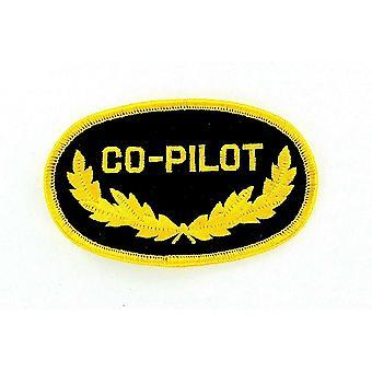 Patch Ecusson Brode Thermocollant Marine Naval Aviation Co-Pilot Copilota Aircraft