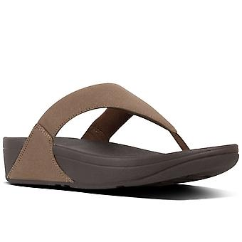 FitFlop™ Lulu Shimmer Womens Toe Post Sandals