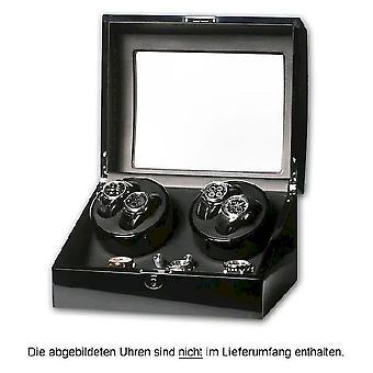 Portax Watchwinder Eleganza 4 clocks piano lacquer LED 1002323008