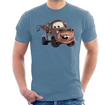 Disney Cars Tow Mater Smile mannen ' s T-shirt