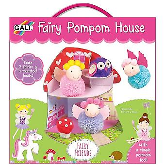 Galt Fairy Pom Pom House  - Craft Kit