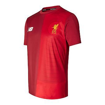 2017-2018 Liverpool Elite Pre Match Training Shirt (rood) - Kids