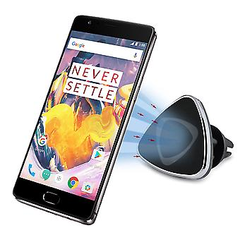 InventCase powietrza Vent samochód Mount klip stojak magnetyczny uchwyt na telefon komórkowy dla OnePlus 3T
