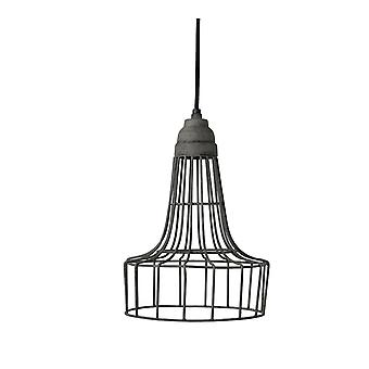 Light & Living Hanging Pendant Lamp D20x30cm Babette Wire Cement