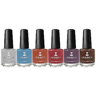 Jessica Vintage Beauty 2019 Fall Nail Polish Collection - Complete Set (6 X 14.8ml)