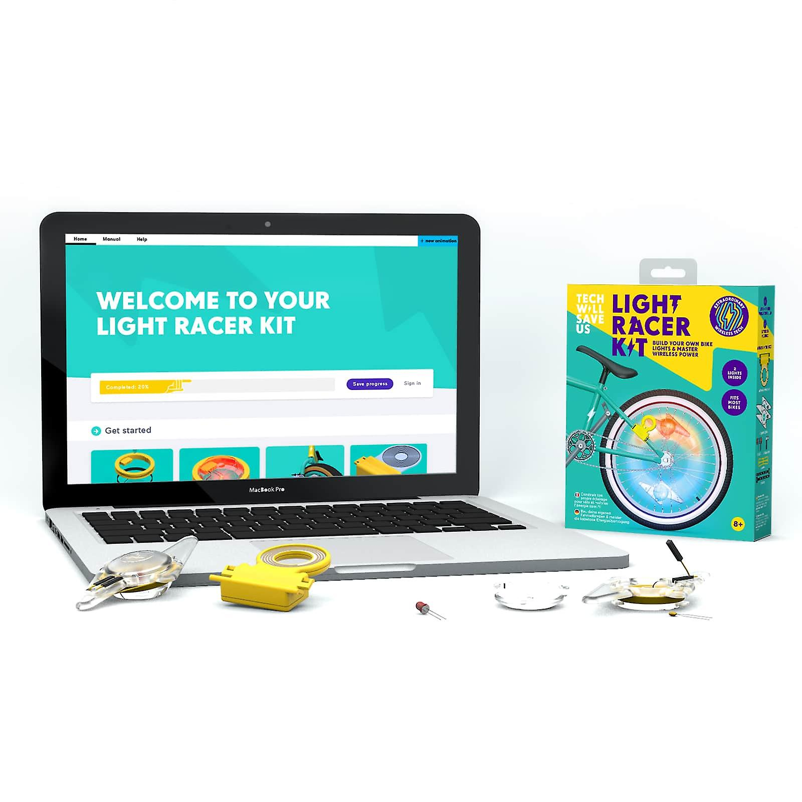 Tech Will Save Us Light Racer Education 10 Pack | For Teachers, Workshops and Schools