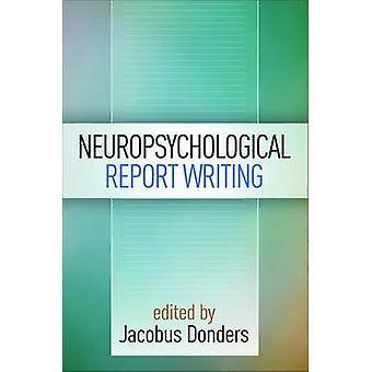 ヤコブス ・ ドンダースによる神経心理学的レポートの書き方