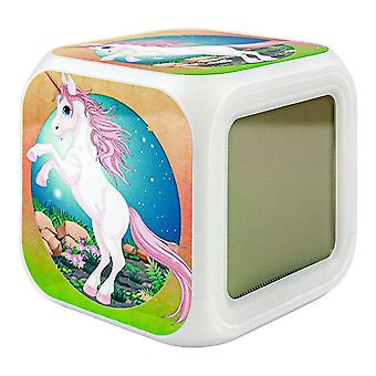 Digital Alarm Clock - Unicorn / Unicorn No.5