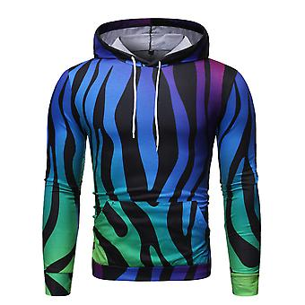 Allthemen Men's Christmas Series Printed Colorful Hoodies